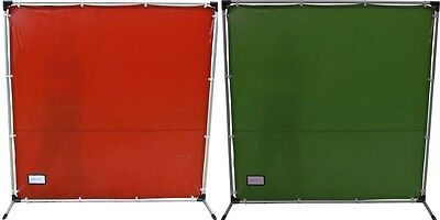 Welding Screen Curtain Flame Retardant & Frame Fiberglass or Aluminium