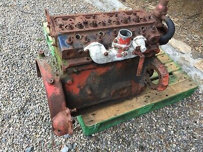 Nuffield 4/65 Engine Block And Cylinder Head