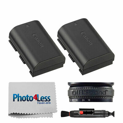 Canon LP-E6N Lithium-Ion Battery Pack for Select Canon Cameras + Accessories