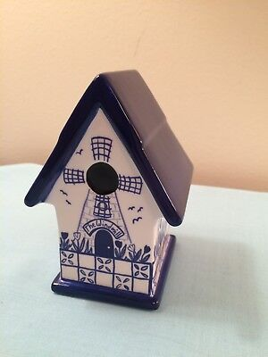 Royal Doulton Bird House Home Tweet Home Windmill-Collectible-Figurine-2001