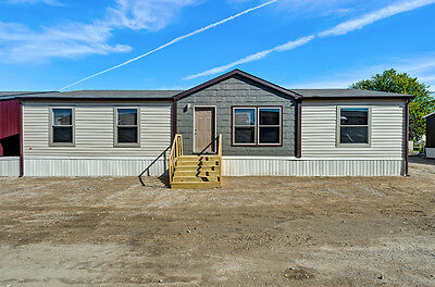 2018 NATIONAL 32x56 3BR/2BA Doublewide Mobile Home-LAKELAND AND ALL FLORIDA
