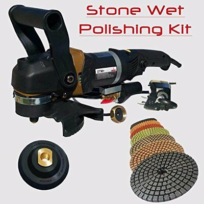 "Stadea SWP107K Concrete Wet Polishing Angle Grinder 5"" Stone Wet Polisher Wit..."