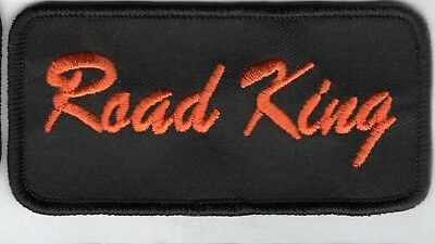 MADE IN THE USA! 4x2 HARLEY ROAD KING  PATCH