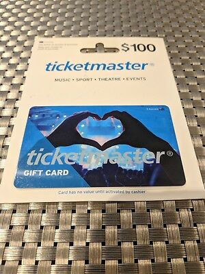 Ticketmaster Gift Card $100
