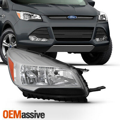 Fits 2013 2014 2015 2016 Ford Escape Passenger Right Side Headlight Replacement