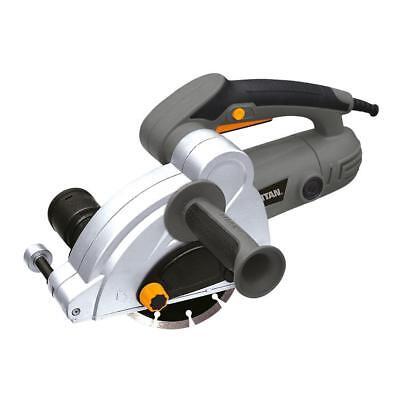 Titan Wall Chaser 230-240V Electric Power Tool Concrete Cutting Durable Powerful