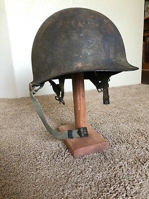 Original WW2 M1c Paratrooper Helmet And Liner named