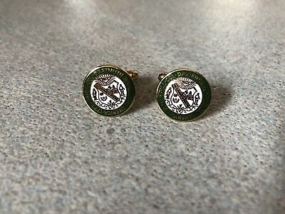 Pair Of Ben Silver Dartmuth Cufflinks