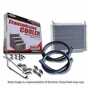 "PWR Trans Oil Cooler kit HOLDEN Com VY V6/V8 280 x 255 x 19mm 3/8"" barb PWO6680"