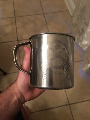 Wild Bill's Soda Pop Co. 10th Anniversary Cup/mug 2002-2012 Stainless