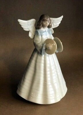Lladro Angel Tree Topper Figurine #5876 Cymbals - MINT CONDITION COLLECTIBLE!