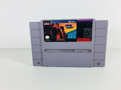 RARE Rival Turf Super Nintendo Entertainment System SNES 1992 Working Tested