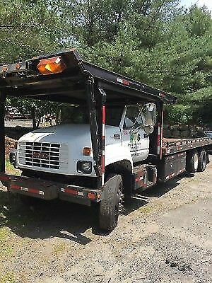 2002 Chevy 7500 four car carrier rollback