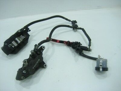 Kawasaki ZX750 Front Brake Caliper Master Cylinder Right Left OEM 96-03 ZX7R