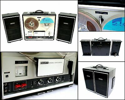 1970's SONY TC-252 Four Track Stereo Reel to Reel Tape Recorder