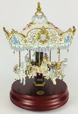 The San Francisco Music Box Company Merry-Go-Round Carousel (non-turning) music