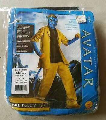 N Child Rubies Avatar Jake Sully Halloween Costume Size S