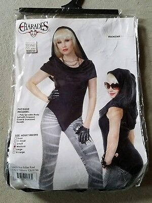 C NEW Adult Charades Rock Star Halloween Costume Size M