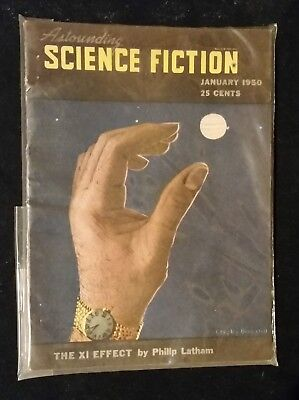 RARE ASTOUNDING SCIENCE FICTION JANUARY 1950 Unbelievable Condition Must See !!