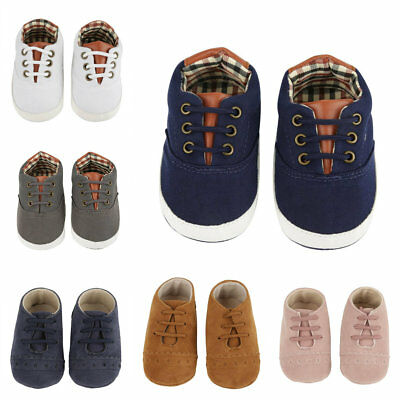 Baby Soft Sole Crib Shoes Infant Boy Girl Toddler Sneaker Anti-Slip 0-18 Months