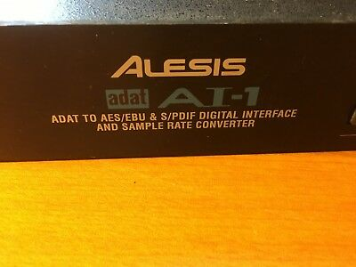 Alesis ADAT AI-1 ADAT to AES/EBU & S/PDIF Digital Interface and Sample rate conv