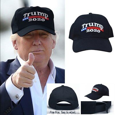 Donald Trump 2020 Keep Make America Great Again Cap Embroidered Hat Black RF