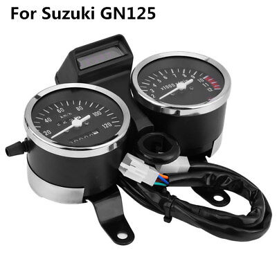 LED Motorcycle Modified Speedometer Odometer Meter Tachometer for Suzuki GN125