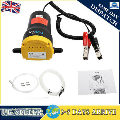12V/60W Electric Car Transfer Extractor Oil Fluid Diesel Pump Self-priming