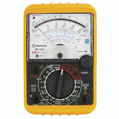 NEW Digital Analogue Movement Multimeter Ave/RMS AVE 10M QM1020