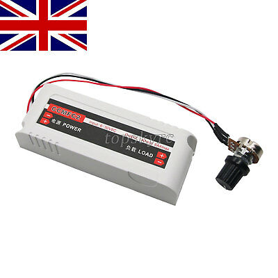 12V/24V 8A DC Motor Speed Controller Switch for Fan/Pump/Grill Oven UK Warehouse