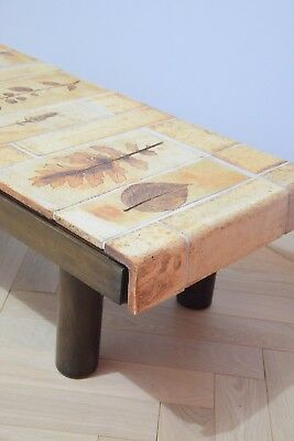 Table basse Capron -Collection Les Herbiers - années 60 / 70 - Vintage - Design