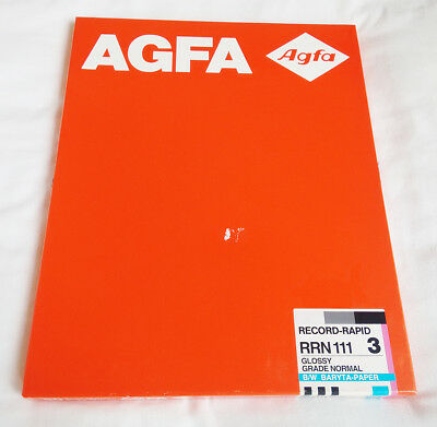 Agfa Record Rapid Grade 3 B&W Photographic Paper