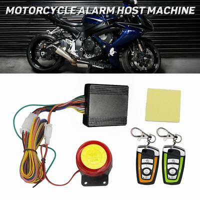 Motorcycle Bike Scooter 12V Car Security Alarm System Remote Control Anti-theft