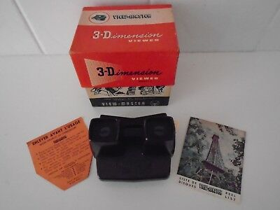 Vintage View-Master 3-Dimension Viewer.