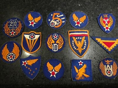 Vintage US Military Patches Lot Of 14