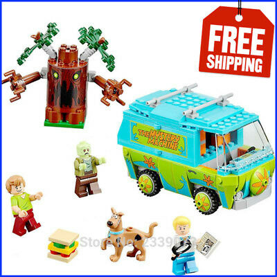 Lego 75902 Scooby Doo The Mystery Machine Building Blocks Toy All Set No Box New