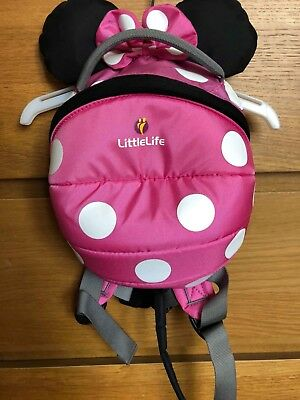 Little life Minnie Mouse Backpack Reins