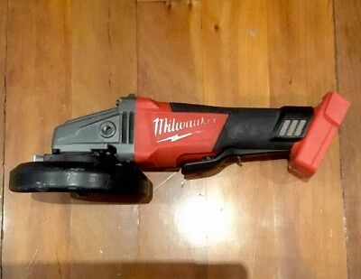 """Excellent Condition Milwaukee Brushless Angle Grinder 125Mm 5"""" M18Cag125Xpd"""
