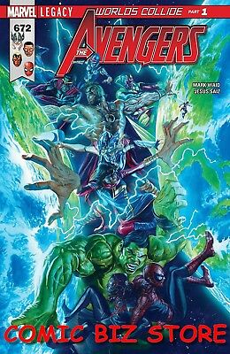 Avengers #672 (2017) 1St Printing Bagged & Boarded Marvel Comics