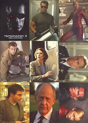 Terminator 3 - Rise of the Machines - Complete Trading Card Set (72) 2003 - NM