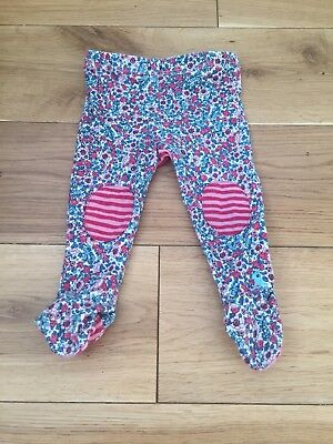 Joules Baby Girl Floral Leggings Crawlers 3/6 Months