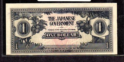 Post Wwii Era United States Occupation Of Japan. One Dollar Paper Bank Note