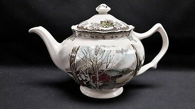 Johnson Brothers Friendly Village Sugar Maples Teapot with Lid