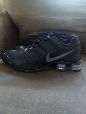 reputable site c1149 5dd47 ... promo code for nike shox current mens running shoes sz 8.5 black grey  anthracite red 633631