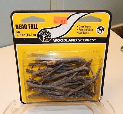 Woodland Scenics HO #S30 Dead Fall Dead Trees Branches NEW