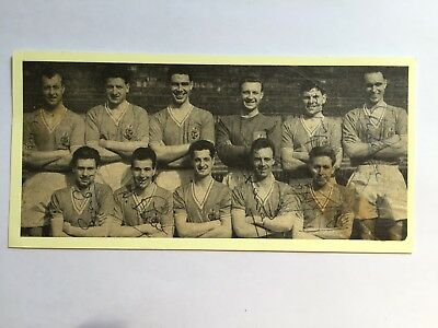 7 autographs BOLTON WANDERERS-50ies! Deceased! Holden/Ray Parry/Tommy Banks+4!!!