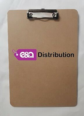 E&A A4 Quality Wooden - Clipboard with Hanging Hole