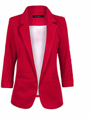 Soring Hot Womens Wedding Formal Cotton Suits Coat Outwears Candy Color
