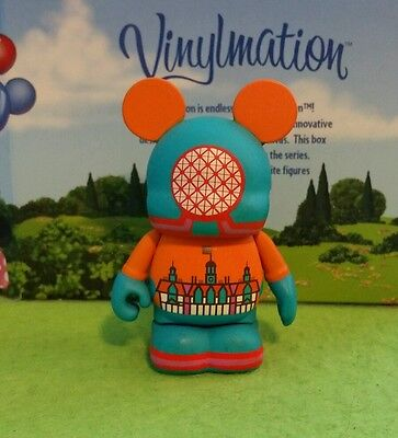 "DISNEY Vinylmation 3"" Park Set 8 Epcot Retro 1982 Theme Park"