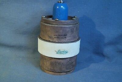 Jennings Vacuum Variable Capacitor 10KV 2300pf Collins p/n 919-0300-010 Tested